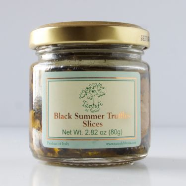 Black Summer Truffle Slices, 80g