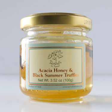 Acacia Honey with Black Summer Truffles, 100g