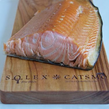 Catsmo Hot-Smoked Baked (Kippered) Salmon, Whole Side