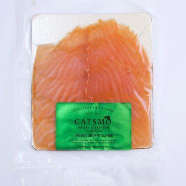 Organic Smoked Salmon, Farm Raised