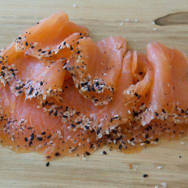 "NEW! ""Everything Bagel"" Smoked Salmon, 8oz"