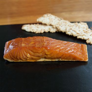 Hot-Smoked (Baked/Kippered) Salmon, 4oz packs