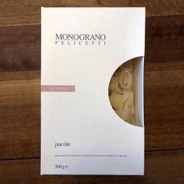 Felicetti Pasta Monograno - Monograno Il Cappelli Grain Variety Pacòte, 500g