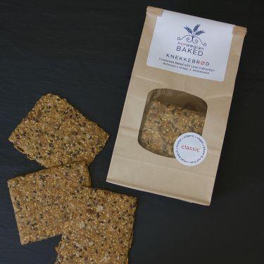 Norwegian Baked Crispbread / Knekkebrød Classic Flavor