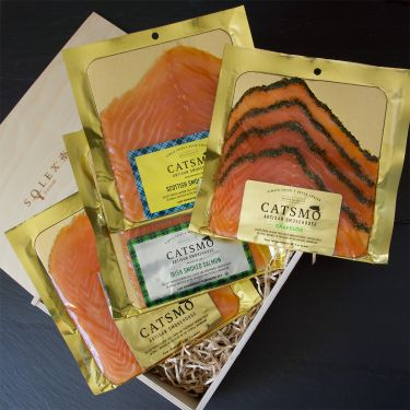 Catsmo Smoked Salmon Collection