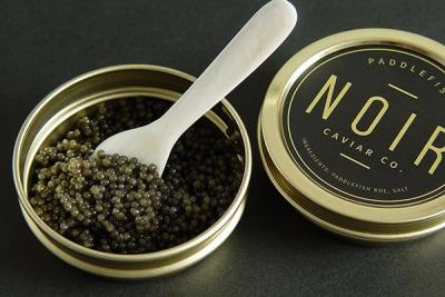 NOIR Caviar - now on the menu!