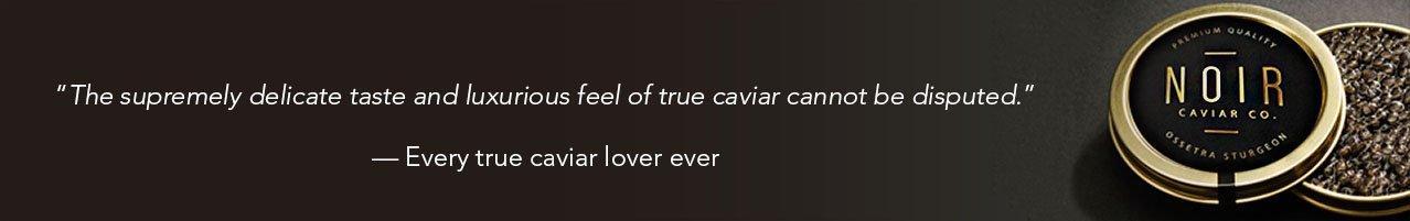 caviar banner