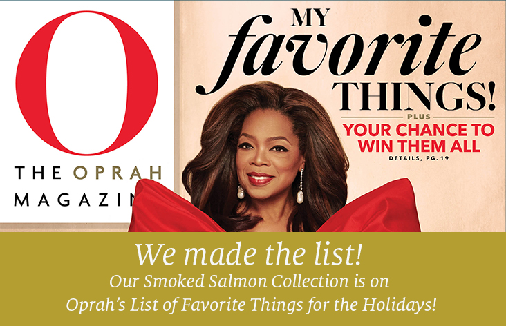 We made Oprah's List of Favorite Things for the Holidays!